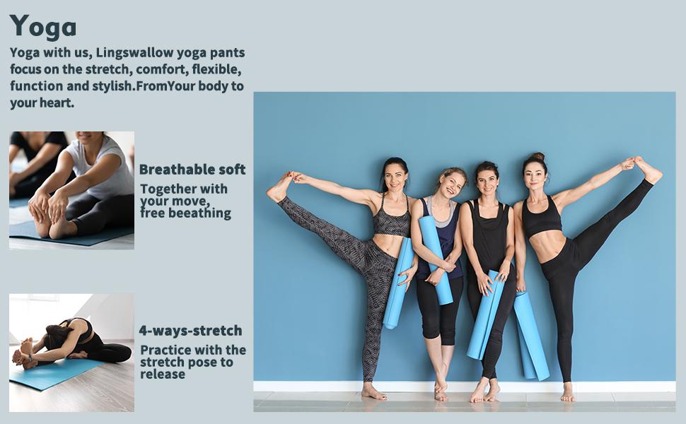 yoga pants high waist