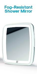 Atomi Fog-Resistant Shower Mirror