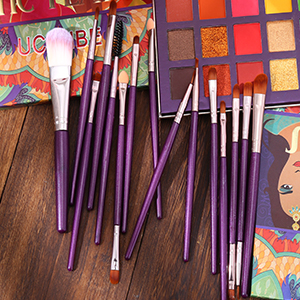 15 Pcs Eyeshadow Brushes