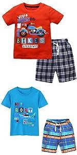 Summer Baby Clothes Baby Boy Clothes Set