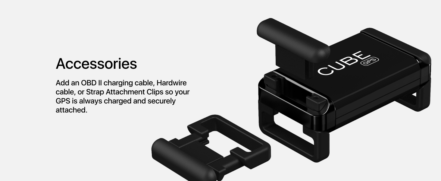 Cube GPS accessories