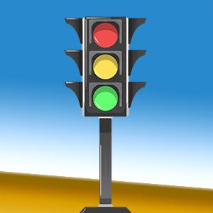 traffic lights reminder