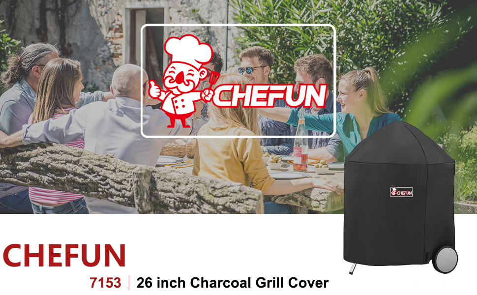 Weber 26 inch Charcoal Grill Cover