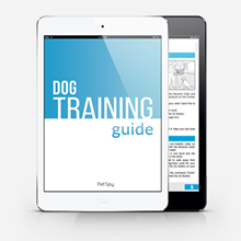 FREE Dog training guide by petSpy with your order