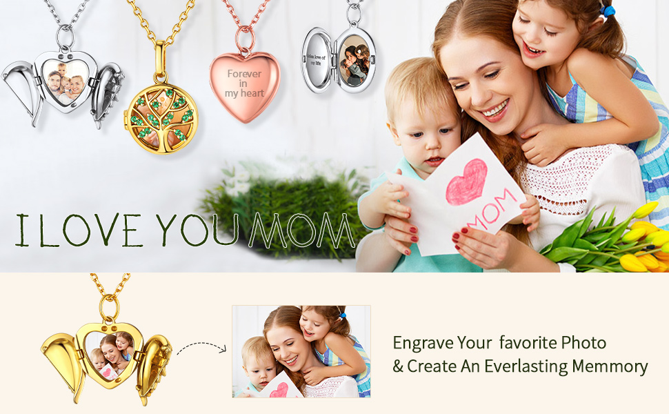 locket necklace that holds pictures