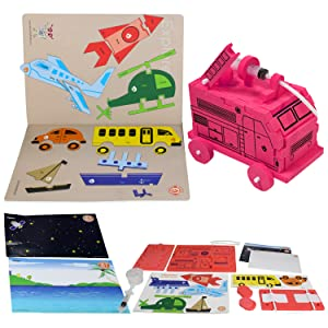 Butterflyfields Fire Engine Monster Truck Toys with Water Cannon Pump for 3 4 years 5 years Boys