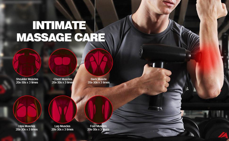 massage gun deep tissue