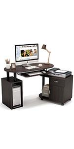 Rotating Computer Desk