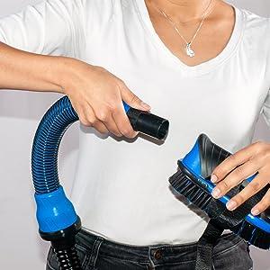 attach, vacuum, brush, kit, pets, fur, hair, hose, dog, cat