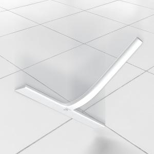 GÜTEWERK rasqueta limpiacristales para Ducha y mampara Profesional con Colgador Ventosa - Blanco - 23 cm - sin taladrar ni Pegar - Silicona y Acero Inoxidable: Amazon.es: Hogar