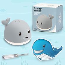 baby toddler bath toys whale automatic spray water bathtub toy-5