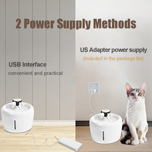 ELSPET 2.5L Cat Fountain without Light