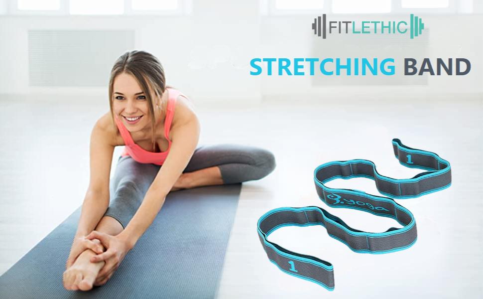 Yoga stretch band