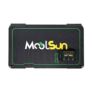 moolsun solar charger 24w solar panel charger portable solar panel panels