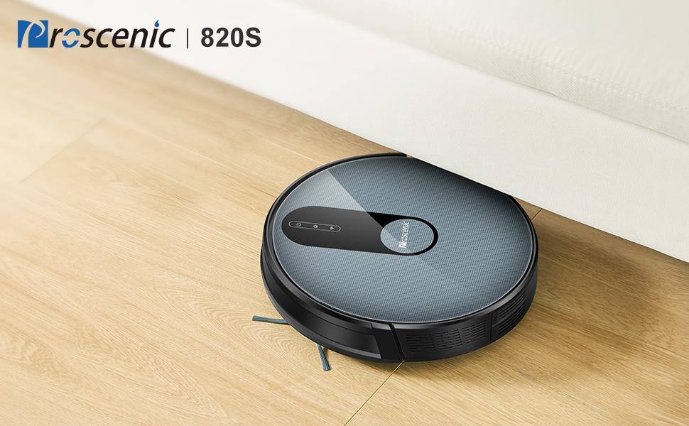 proscenic Robot Aspirador Neo820S 1800Pa función de Google ...
