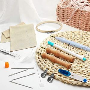 Adjustable Yarn Punch Needles