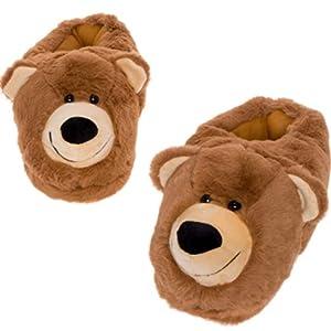 bear face slipper
