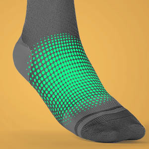 Sparthos Ankle and feet compression socks Sock
