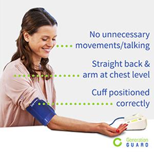 generation guard upper arm blood pressure monitor