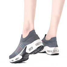 grey walking shoes for woman