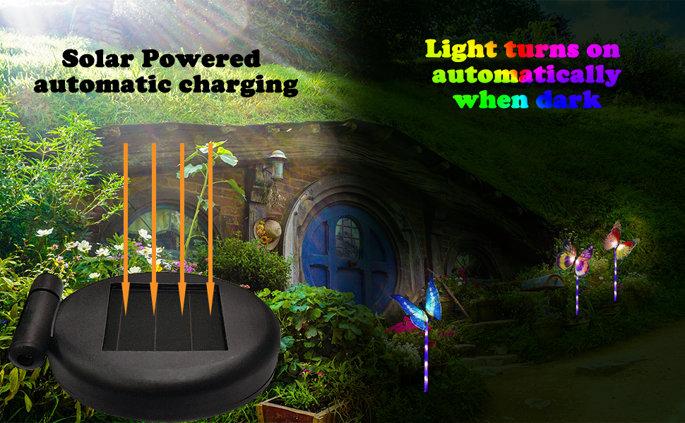 solar powered automatic charging