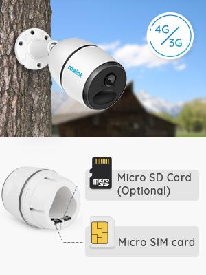 mobile camera 4g lte