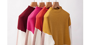 Four color options sweater