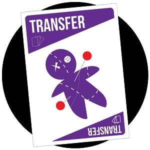 transfer card, bruhaha card game, high quality game, gift ideas