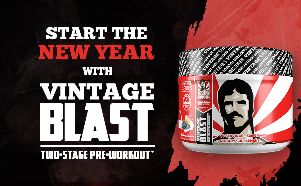 Vintage Blast, pre workout, preworkout, enegry, endurance, nitroc oxide, no boost