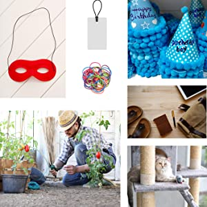 Elastic Cord Rope Stretchy String for Mask Tags Headband Hats Tomato Plant Cat Toys
