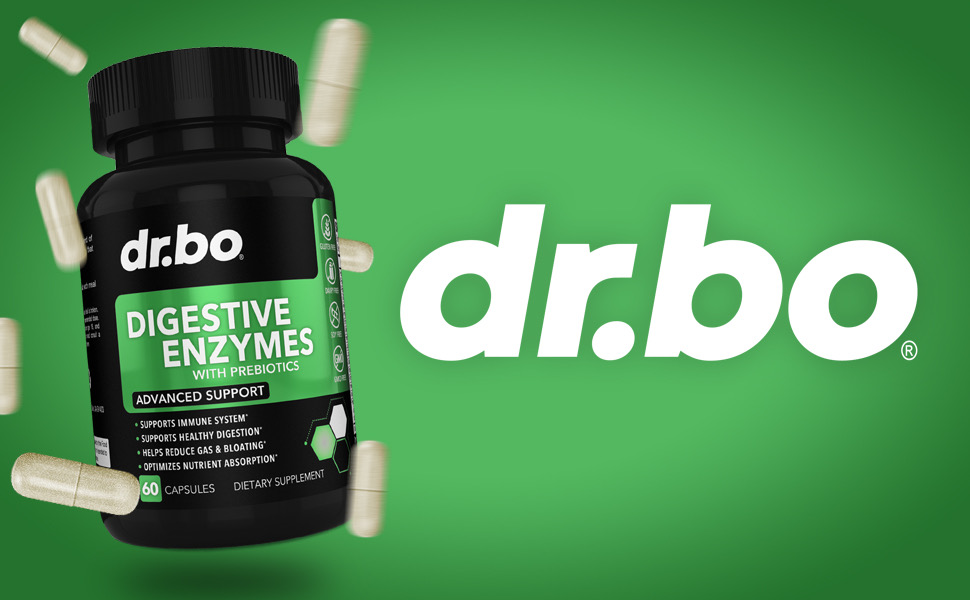 dr. bo digestive enzymes for digestion lactase enzyme supplement bromelain supplements ibs bloating