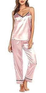 Silk pajamas for women