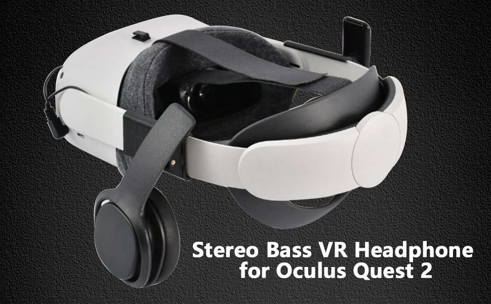 Professional Stereo Bass VR Headphone/Custom Made for Oculus Quest 2 VR Headset