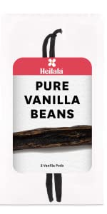 Heilala Vanilla beans pods premium for baking grade a paste powder Madagascar extract