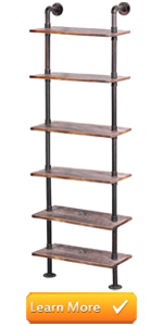 wall mounted wood and metal pipe decorative shelves floating shelf