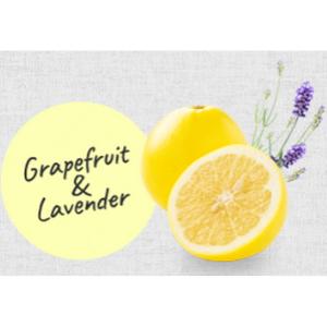 グレープフルーツとラベンダーのやさしいオーガニックアロマの香り