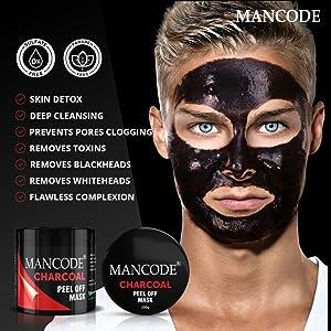 charcoal peel off mask, charcoal peel off mask for men,  charcoal peel off mask for blackheads