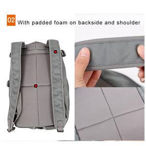 details of dog backpack 300-2