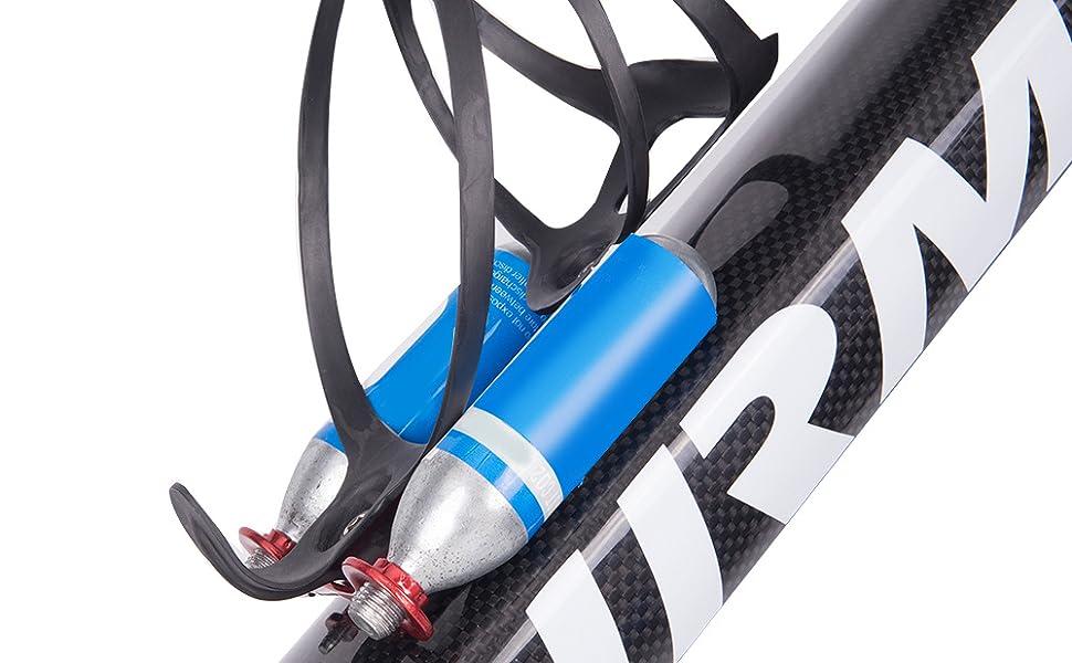 Lixada CO2 Cartridge Holder Bracket for Road Bike Water Bottle Cage Mount
