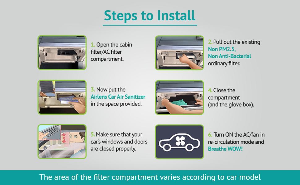 Airlens Car Air Sanitizer Block Image