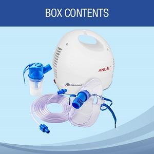 nebulizer adult masks Mouthpiece with exhalation hole, nose piece child masks filter tube power cord