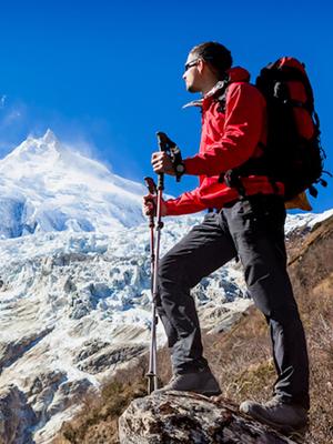 Mountaineering socks