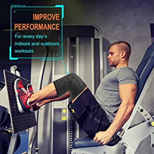 Cambivo knee brace for gym