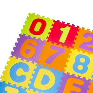 Interlocking puzzle Playmat Tiles