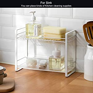 FOR SINK AND CLEANING SUPPLIES