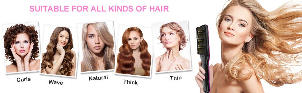 heat hair