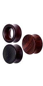 wood ear gauges