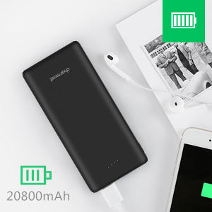 Charmast 20800mAh Batterie Externe Rapide Charge, USB C 20000 Power Bank Power Delivery QC 3.0