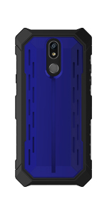 LG Stylo 5 Blue Phone Case - Evocel - Heavy Core Series