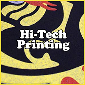 Hi Tech Professional Printing Direct To Garment With Vibrant Design In Background Of Our Top Seller